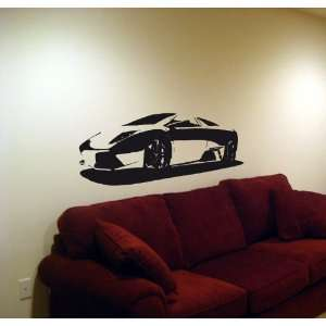 Wall Vinyl Sticker Car 2011 Lamborghini Murcielago 007