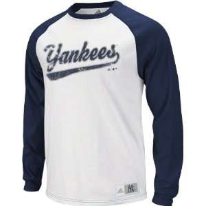 New York Yankees Toddler adidas Long Sleeve Raglan T Shirt