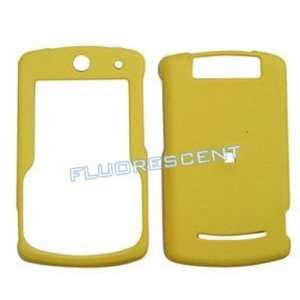 Motorola Q9h Fluorescent Solid Yellow Hard Case/Cover