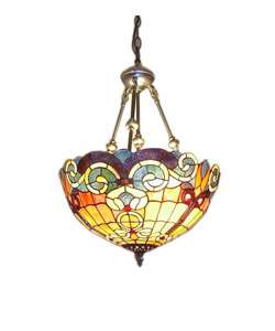 Tiffany style Baroque Hanging Pendant Light
