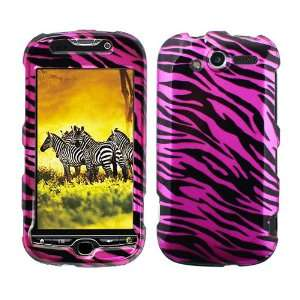 Pink Black Zebra Snap on Design Case Hard Case Skin Cover
