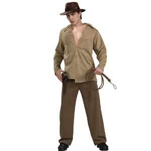 Lets Party By Rubies Costumes Indiana Jones   Deluxe Muscle Chest