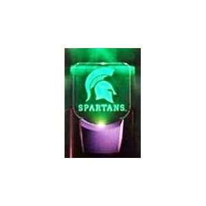 NCAA Michigan State Spartans LED Night Light Sports