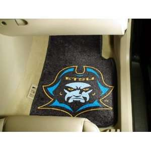 East Tennessee State University   Car Mats 2 Piece Front