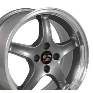 Cobra R 4 Lug Deep Dish Style Wheel with Machined Lip Fits