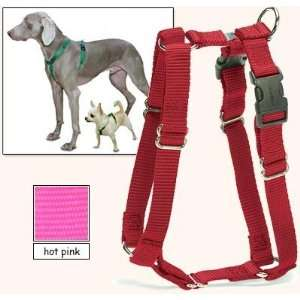 Fit Dog Harness, 5 Way Adjustability for a Perfect Fit (Hot Pink, X
