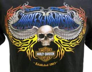 Harley Davidson Las Vegas Dealer Tee T Shirt BLACK MEDIUM #BRAVA1