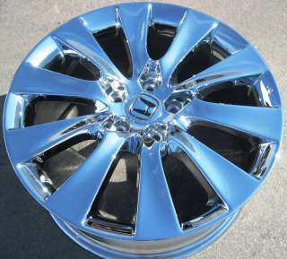 NEW 18 FACTORY HONDA ACCORD OEM CHROME WHEEL RIM