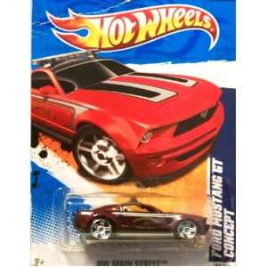 2011 Hot Wheels FORD MUSTANG GT CONCEPT HW MAIN STREET 2 of 10, #162