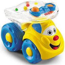 Fisher Price Brilliant Basics Poppity Pop   Dump Truck   Fisher Price