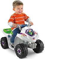 Quad Power Wheels from Fisher  Price   Power Wheels