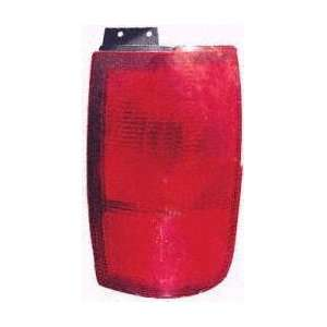 98 02 LINCOLN NAVIGATOR TAIL LIGHT RH (PASSENGER SIDE) SUV, On Quarter