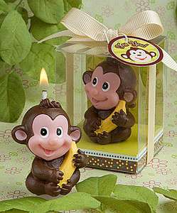 40 Baby Monkey Candle Favor