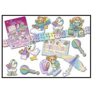 Baby Shower Decoration 11 Piece Party Kit Cuddle Time