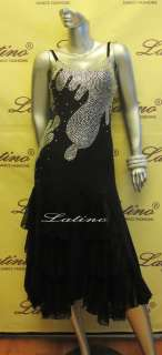 LATIN SALSA(BALLROOM) COMPETITION DRESS SIZE M (LT489A)
