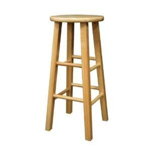 Winsome Furniture Set Of 2, Square Leg 29 Stool