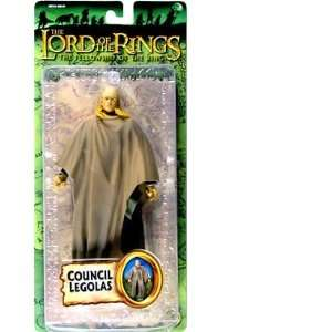 The Ring Collectors Series Action Figure Council Legolas Toys & Games