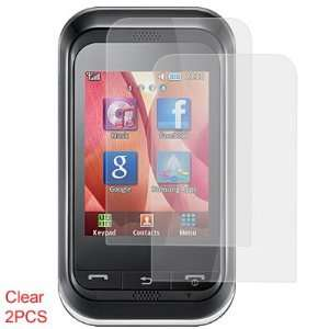 Clear LCD Screen Guard for Samsung C3300 Cell Phones & Accessories