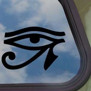 Eye Of Ra Black Decal Truck Bumper Window Vinyl Sticker