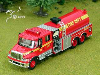 Die Cast Fire Dept Fire Truck by Boley HO Scale 187
