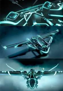 Disney TRON LEGACY Diecast Replica Vehicles (150) *NEW