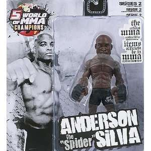 ANDERSON SILVA   WORLD OF MMA CHAMPIONS 2 TOY MMA ACTION FIGURE  Toys