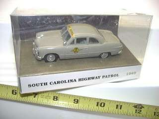 COLLECTIBLES RARE 1949 FORD SOUTH CAROLINA STATE POLICE CAR MINT BXD