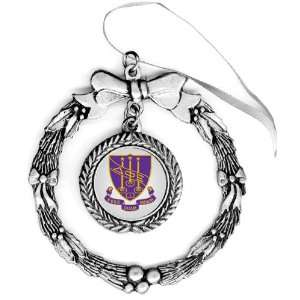 Delta Phi Epsilon Pewter Holiday Ornament