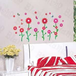 HEMU HL 1289   Dancing Flourish   Wall Decals Stickers Appliques Home