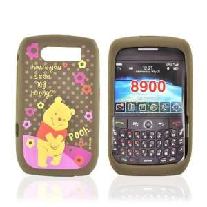 Disney Blackberry Curve 8900 Silicone Case Winnie Pooh Electronics