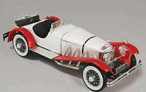 25 1929 Mercedes Benz SSK Plastic Model kit