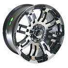 Summit Racing Series 375 Black Ultimate Eight Wheel 16x8 5x135mm BC