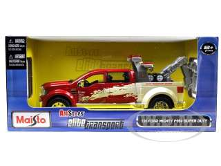 of Ford Mighty F 350 Super Duty Tow Truck die cast car by Maisto