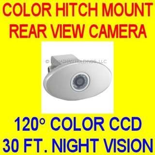 TRAILER HITCH COLOR REAR VIEW CAMERA BACKUP BACK UP CCD