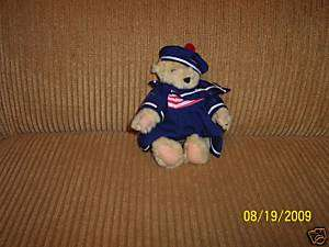 1982 Plush North American Bear Vanderbear Family Bear