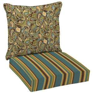 Arden Lakeside Paisley Deep Seat Pillow Back Set  DISCONTINUED