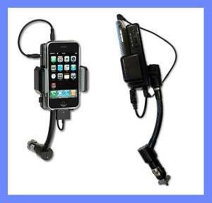 iPhone Handsfree Car Kit Mount FM Transmitter Charger