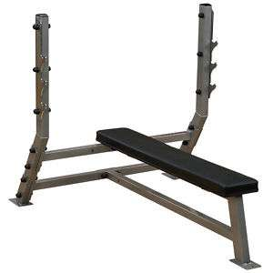 Clubline Commercial Grade Flat Olympic Bench Press 638448001206