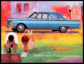 1962 Ford Fairlane, 500 ORIGINAL Dealer Sales Brochure