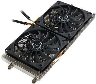 MUSASHI DUAL FAN GRAPHICS CARD HEATSINK FAN COOLER AMD/ATI NVIDIA