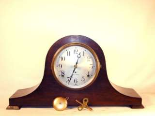 Nice Original Antique Seth Thomas Tambour Mantle Clock   Sentinel No