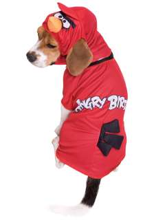 Angry Birds Red Bird Dog Costume   Angry Birds Pet Costumes