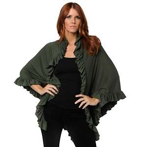 IMAN Global Chic Everyday Glamour Lightweight Waterfall Cardi