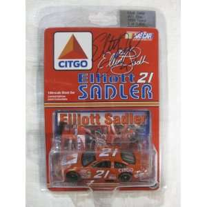 SIGNED Nascar Die cast #21 Elliott Sadler Citgo Racing