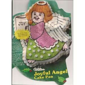 Wilton Cake Pan Joyful Angel/Holiday or Christmas Angel (502 4246