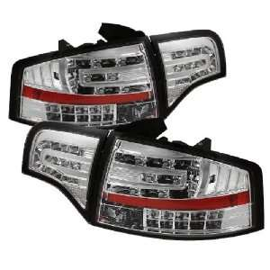 Spyder Auto Audi A4 Chrome LED Tail Light Automotive