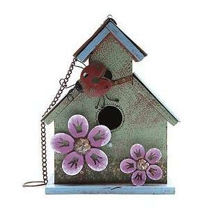 Green Ladybird Bird House Patio, Lawn & Garden