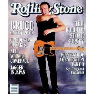 Bruce Springsteen, 1988 Rolling Stone Cover Poster by Neal