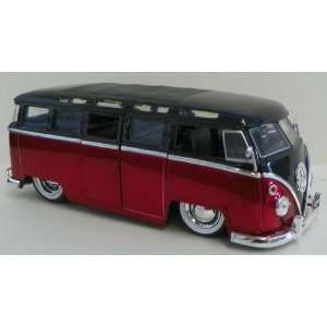 com Jada Toys 1/24 Scale Diecast Big Time Kustoms 1962 Volkswagen Bus