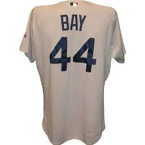 Sox Game Used Gray Cool Base Jersey (48) (MLB Auth)